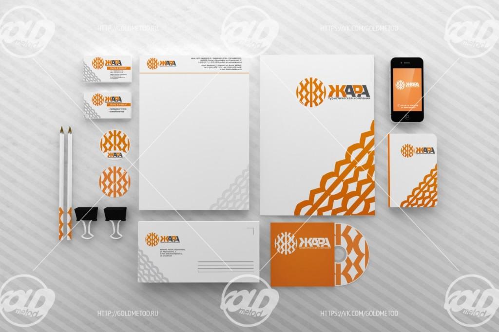 Логотип, фирменный стиль, разработка, красноярск, goldmetod