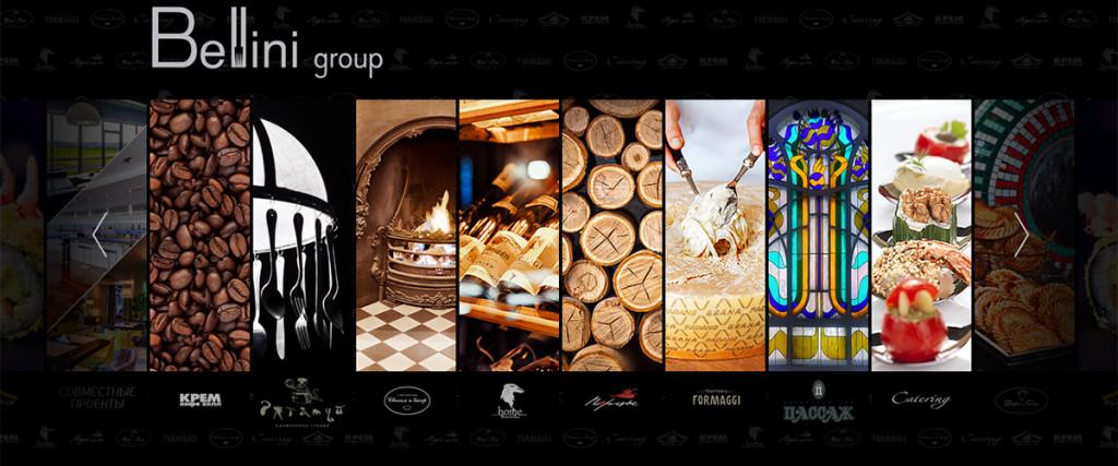Красноярск, сайт, логотипы, Bellini group, Goldmetod, разработка, дизайн студия, рестораторы красноярска, smm pr marketing